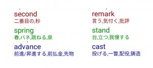 英読辞書サンプル