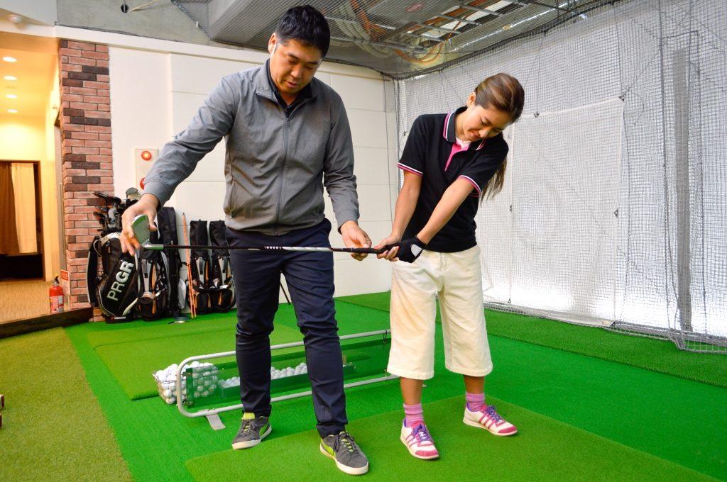 ゴルフのスイングの基本