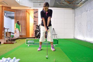 ゴルフ,スイング,姿勢